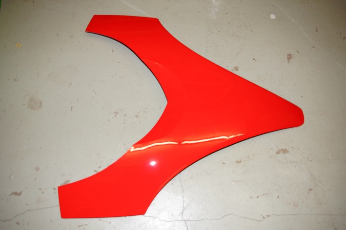 3606-554 Cover Hood T660 Turbo ST -05 Red