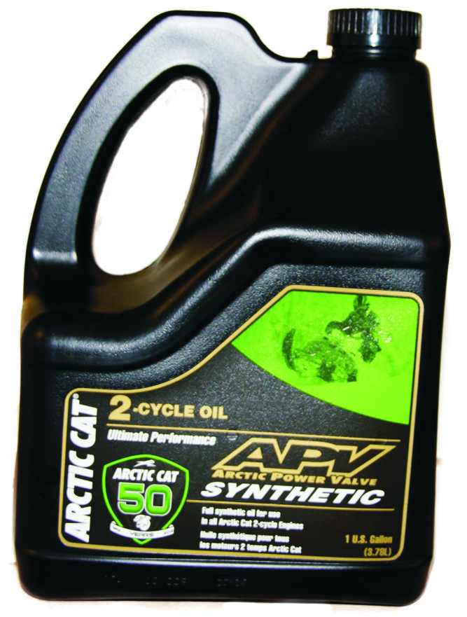 6639-152 APV Synthetic 2-stroke oil 4 Lit